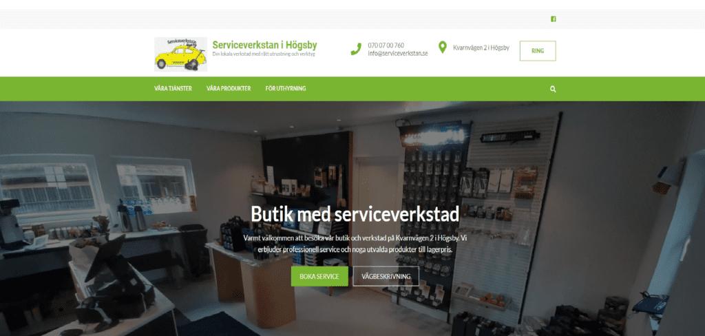 Ny hemsida till Svenskt företag - OPTI ONLINE / OPTI ONNET AB
